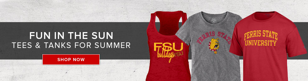 Picture of summer apparel. Fun in the Sun. Tees and tanks for summer. Click to shop now.